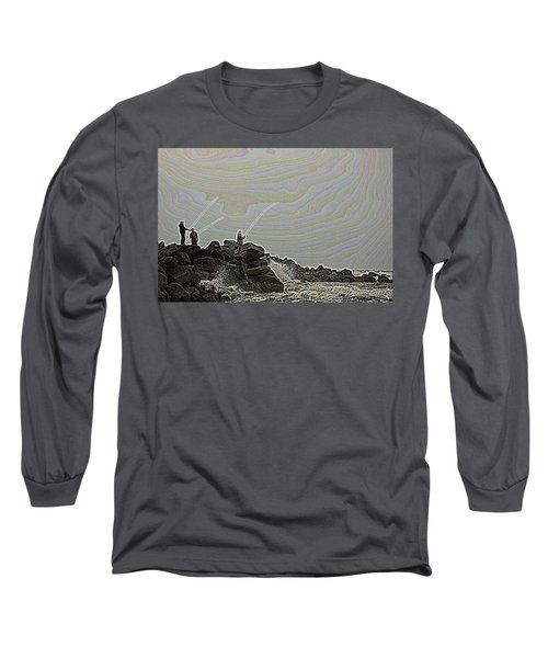 Fishing In The Twilight Zone Long Sleeve T-Shirt
