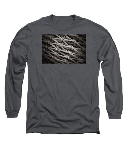 Fishing Nets Long Sleeve T-Shirt by Clare Bevan