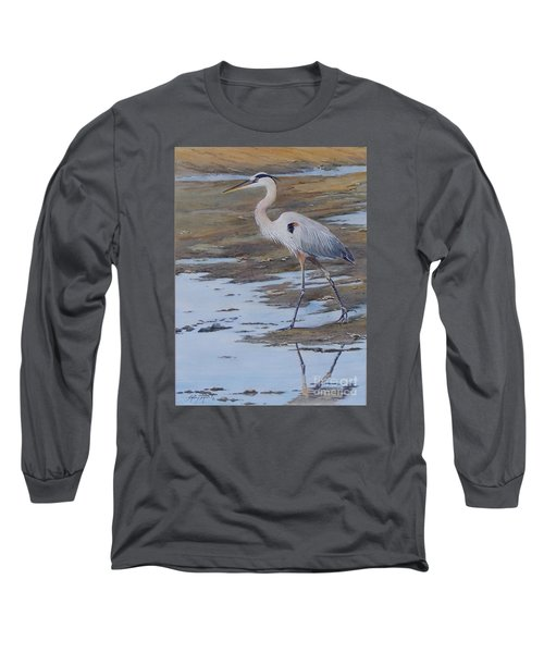 Fishing The Mud Flats...sold  Long Sleeve T-Shirt