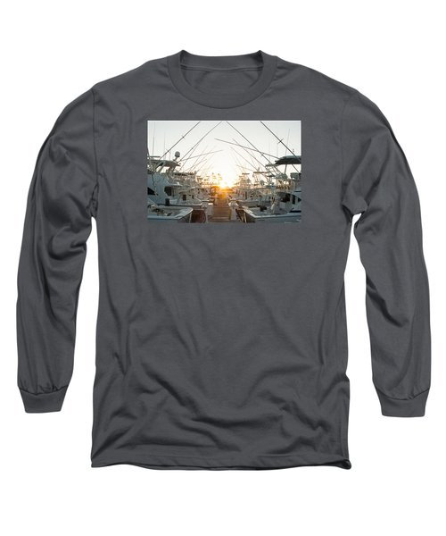 Fishing Yachts Long Sleeve T-Shirt