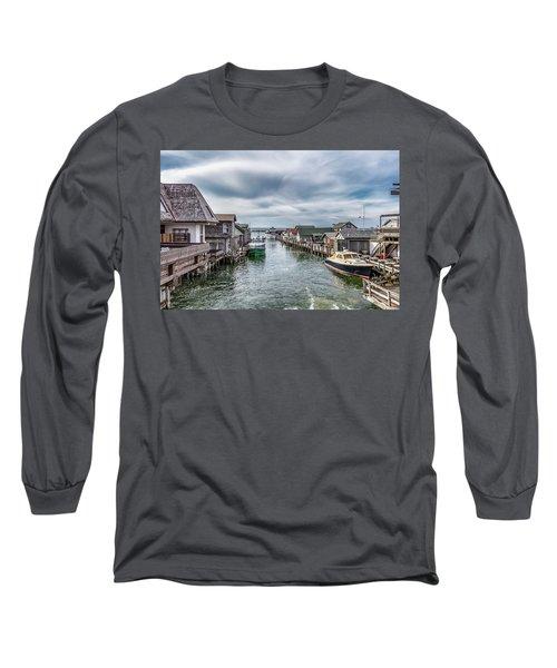 Fishtown Michigan In Leland Long Sleeve T-Shirt