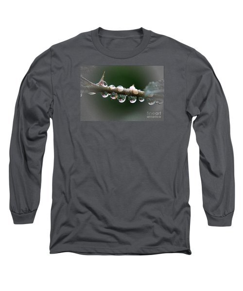 Five Droplets Long Sleeve T-Shirt by Yumi Johnson