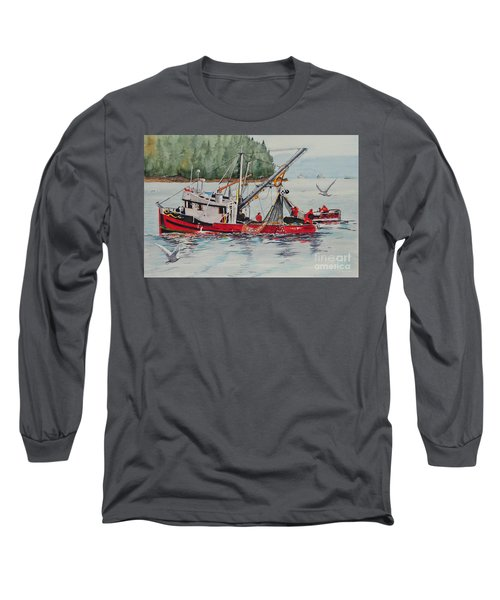 Five Miles Out Of Valdez Long Sleeve T-Shirt