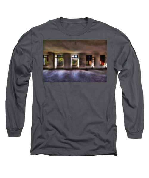 Five Windows On The Wood - Cinque Finestre Sul Bosco Long Sleeve T-Shirt