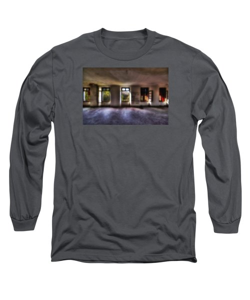Five Windows On The Wood - Cinque Finestre Sul Bosco Long Sleeve T-Shirt