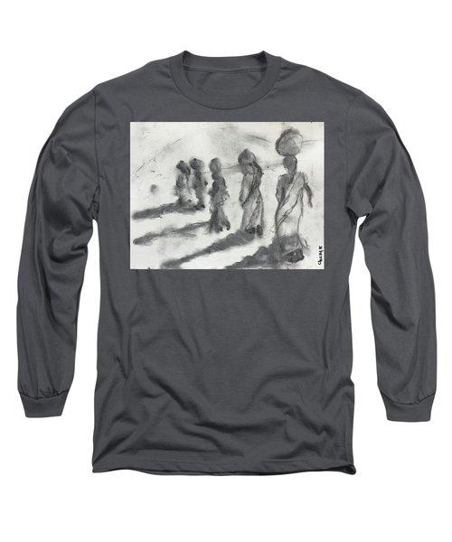 Five Women Immigrants Long Sleeve T-Shirt
