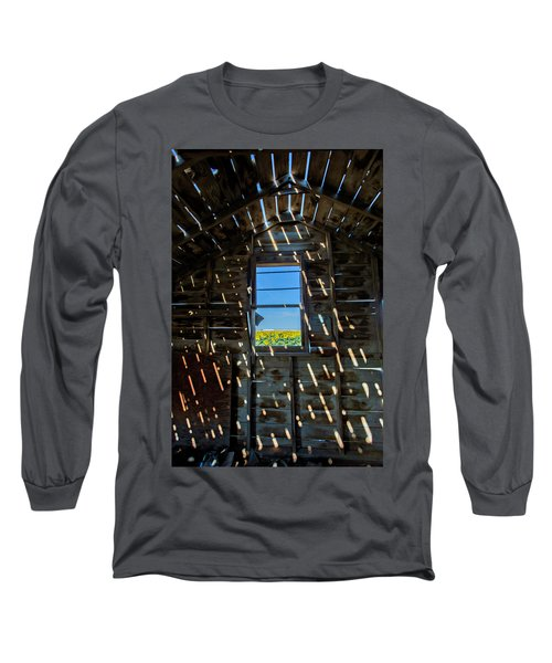 Fixer Upper With A View Long Sleeve T-Shirt by Kristal Kraft