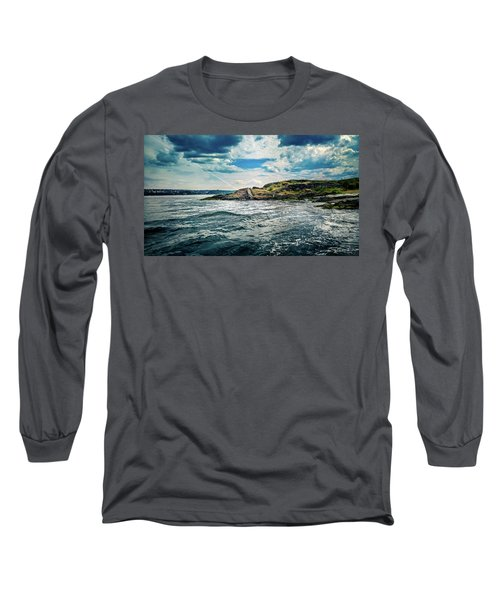 Fjord From The Ferry Long Sleeve T-Shirt