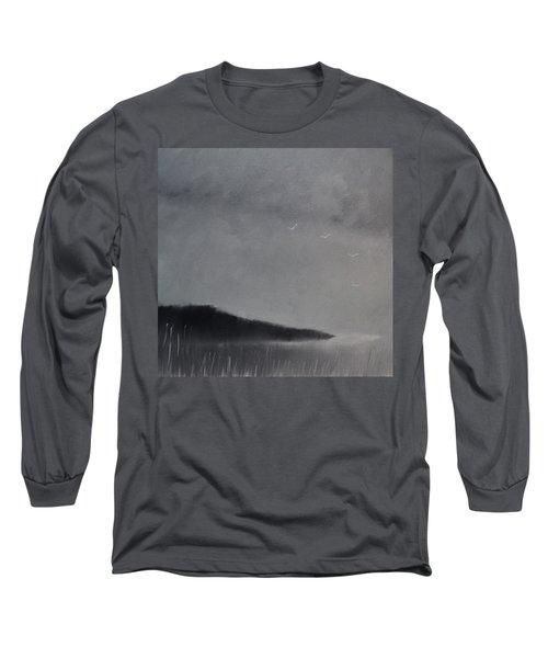 Fjord Landscape Long Sleeve T-Shirt by Tone Aanderaa