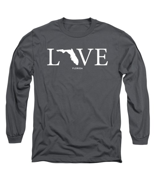 Fl Love Long Sleeve T-Shirt by Nancy Ingersoll