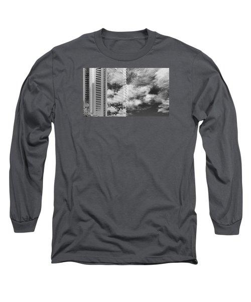 Fla-150531-nd800e-25123-bw Long Sleeve T-Shirt by Fernando Lopez Arbarello