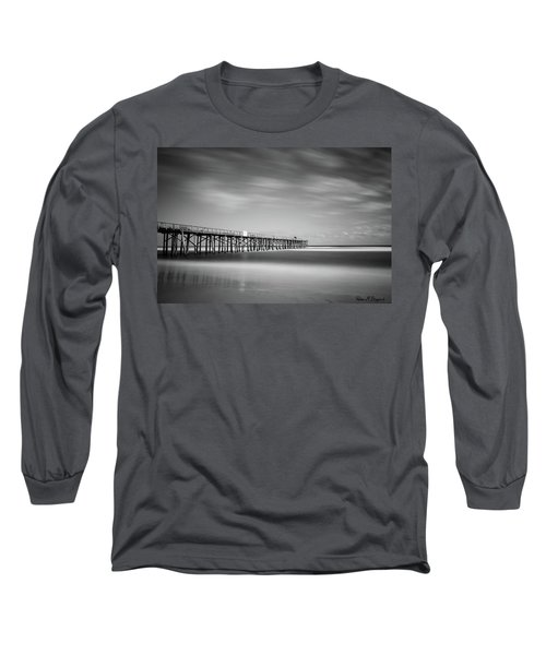 Flagler Beach Pier Long Sleeve T-Shirt