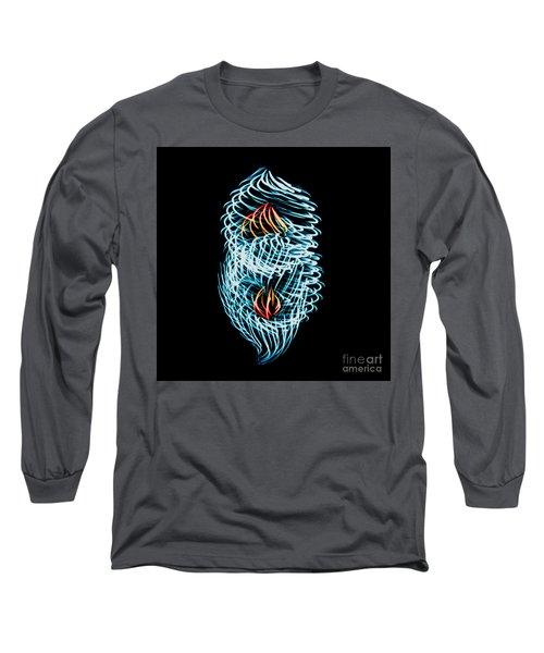 Flame Heart Long Sleeve T-Shirt