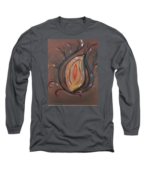 Flame Long Sleeve T-Shirt by Sharyn Winters