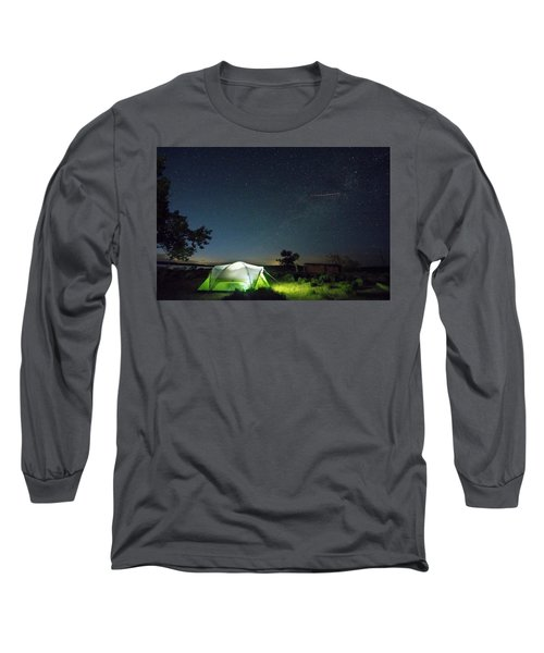 Flaming Sky Long Sleeve T-Shirt