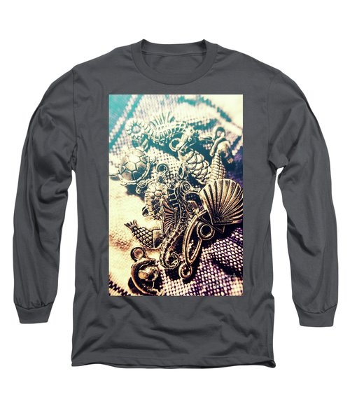 Flares Of Nautical Beauty Long Sleeve T-Shirt