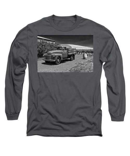 Flat Bed Chevrolet Truck Dsc05135 Long Sleeve T-Shirt