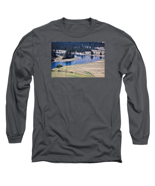 Flathead River 1 Long Sleeve T-Shirt
