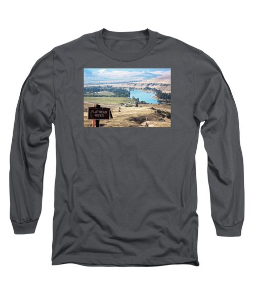 Flathead River 4 Long Sleeve T-Shirt