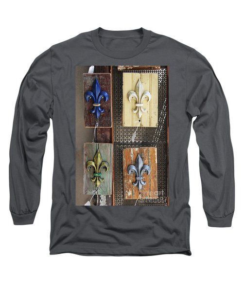 Fleurs-de-lis Long Sleeve T-Shirt