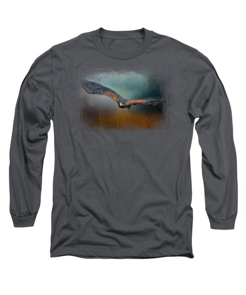 Flight Of The Harris Hawk Long Sleeve T-Shirt