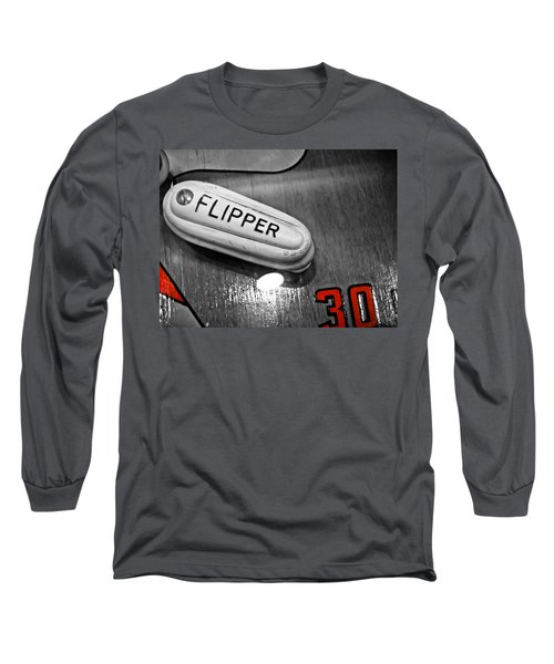 Flipper 30 - Pinball  Long Sleeve T-Shirt