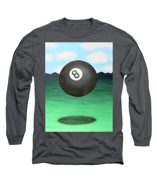 Floating 8 Long Sleeve T-Shirt by Thomas Blood