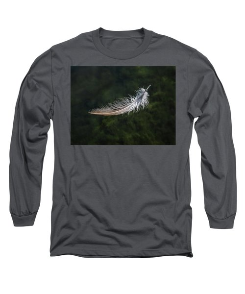 Floating Feather Long Sleeve T-Shirt