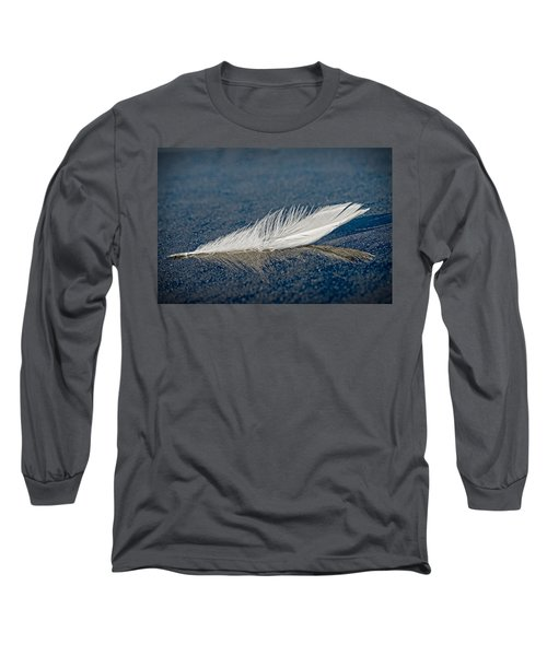 Floating Feather Reflection Long Sleeve T-Shirt