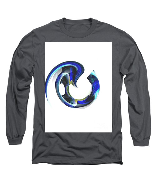 Floating Life Long Sleeve T-Shirt by Thibault Toussaint