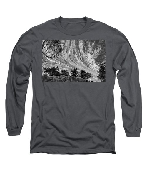 Floating Oil Spill On Water Long Sleeve T-Shirt