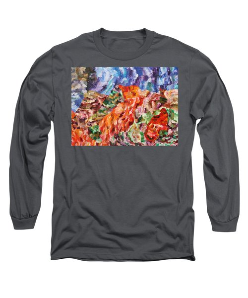 Flock Long Sleeve T-Shirt