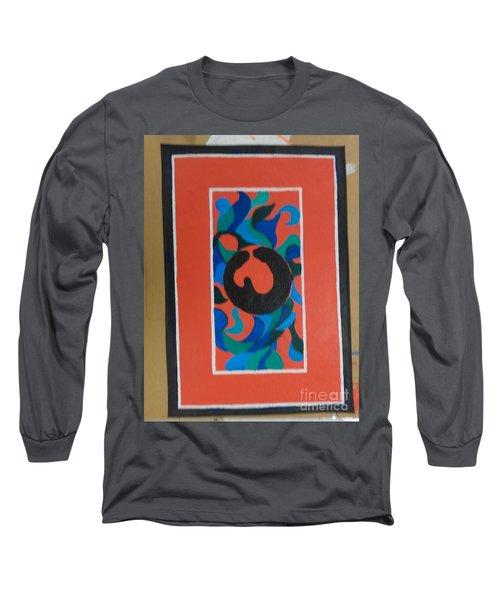 Floor Cloth E - Sold Long Sleeve T-Shirt
