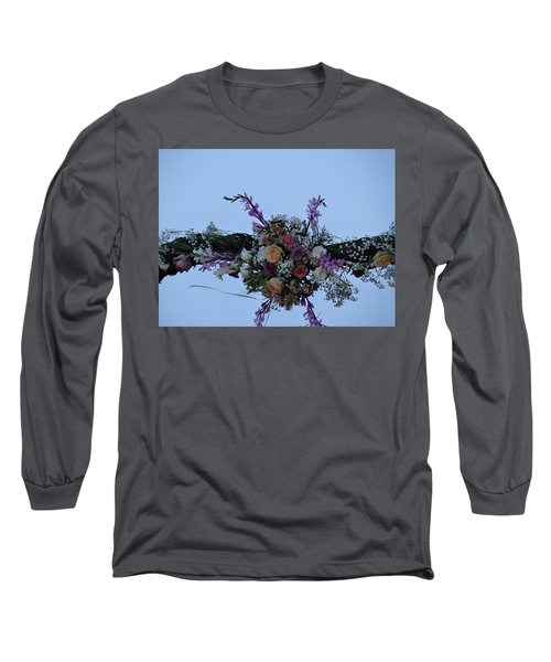 floral love in the Kenyan sky Long Sleeve T-Shirt
