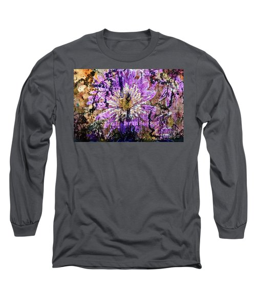 Floral Poetry Of Time Long Sleeve T-Shirt