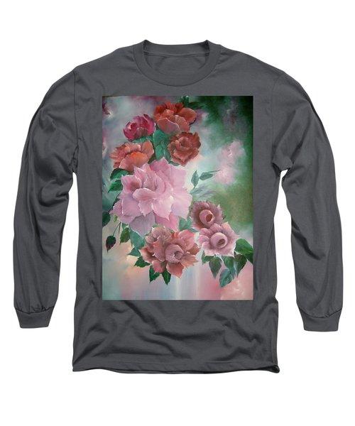 Floral Splendor Long Sleeve T-Shirt