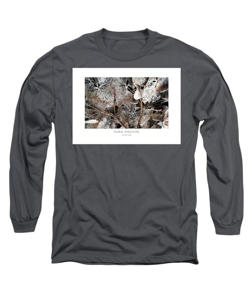 Floral Structure Long Sleeve T-Shirt