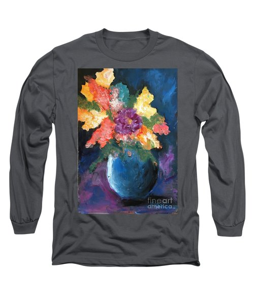 Floral Study 1 Long Sleeve T-Shirt