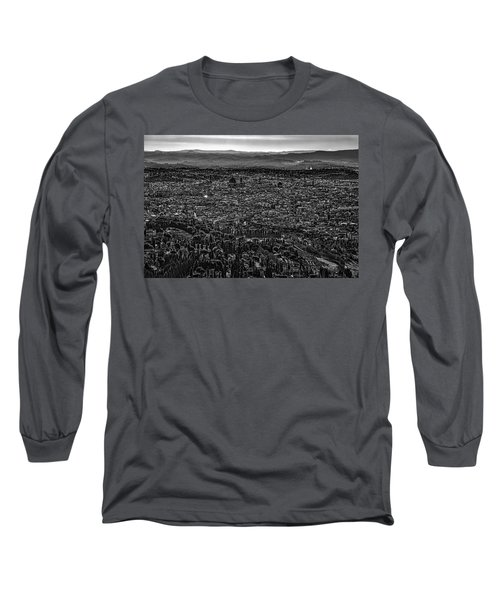Florence From Fiesole Long Sleeve T-Shirt by Sonny Marcyan