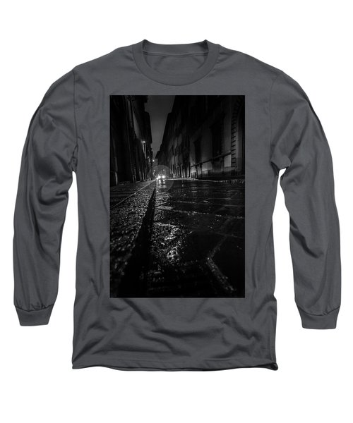 Florence Nights Long Sleeve T-Shirt by Sonny Marcyan