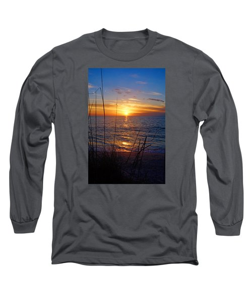 Florida Gulf Coast Sunset Long Sleeve T-Shirt