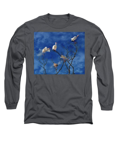 Florida Keys The Exaggerated Ibis Long Sleeve T-Shirt