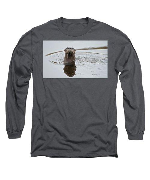 Florida Otter Long Sleeve T-Shirt
