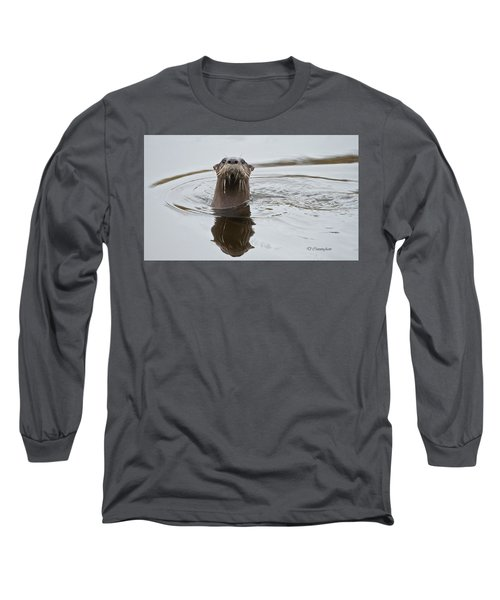 Florida Otter Long Sleeve T-Shirt
