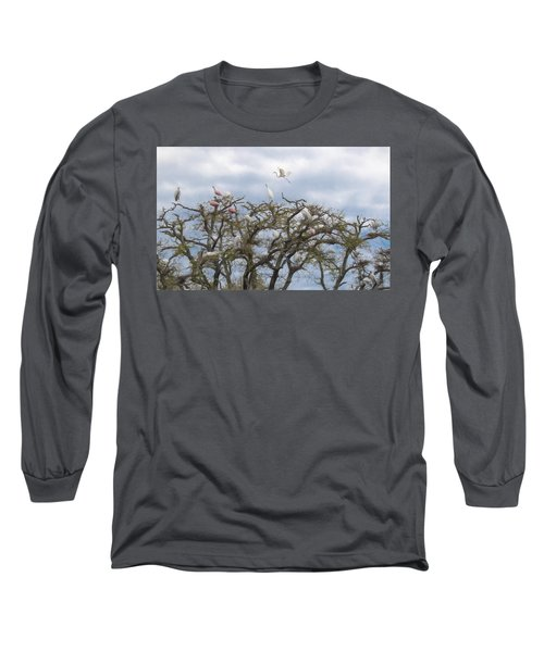 Florida Rookery Long Sleeve T-Shirt