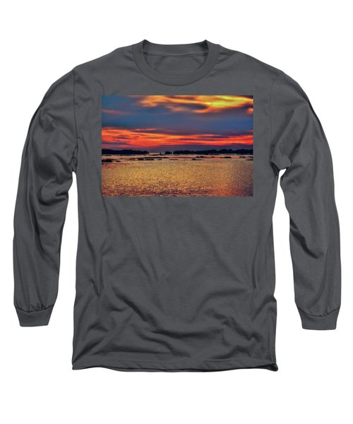 Long Sleeve T-Shirt featuring the photograph Florida West Coast  by Louis Ferreira