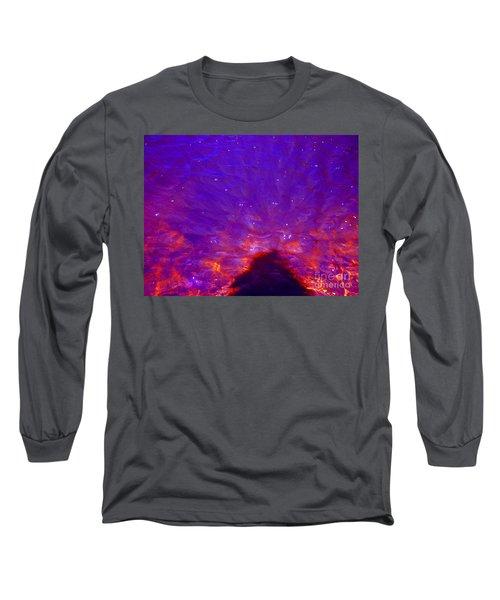 Flourescent Waters Long Sleeve T-Shirt
