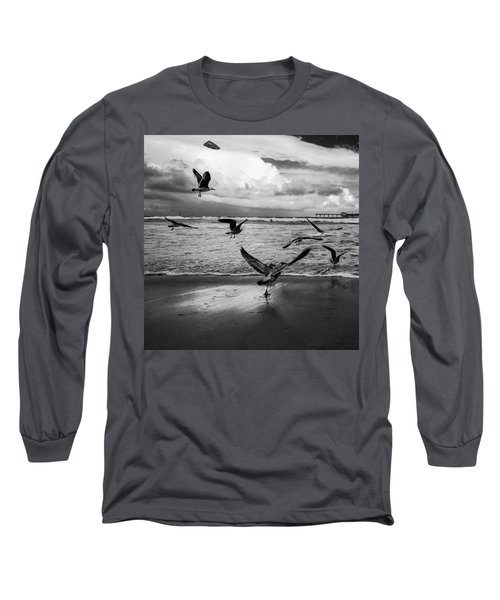 Flow Long Sleeve T-Shirt by Ryan Weddle