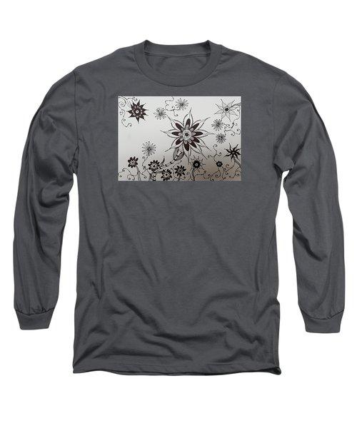 Flower 10 Long Sleeve T-Shirt
