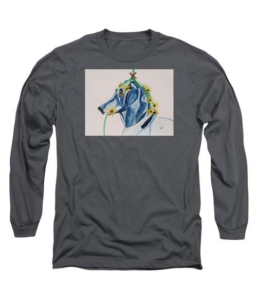 Flower Dog 8 Long Sleeve T-Shirt